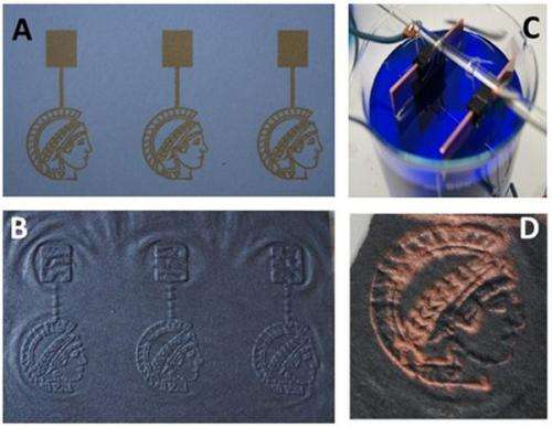 Paper a cost-efficient and simple means of generating electrically conducting structures
