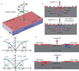 Research group devises a way to control surface plasmon polaritons