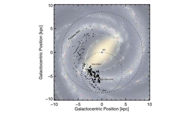 Research maps where stars are born