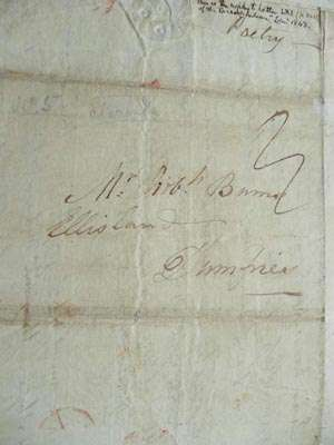 Research uncovers seven lost Burns manuscripts