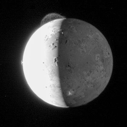 Scientists to Io: Your volcanoes are in the wrong place