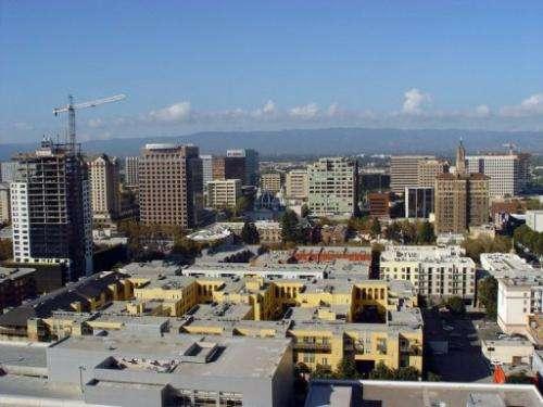 Silicon Valley's capital city San Jose in California