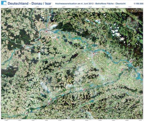 SMOS maps record soil water before flood