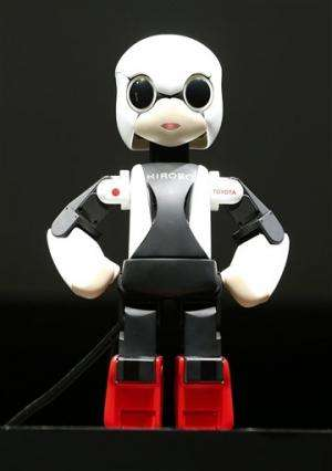 Talking humanoid robot launches on Japan rocket