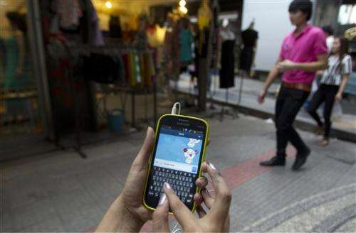 Thai police seek to monitor chat app for crimes
