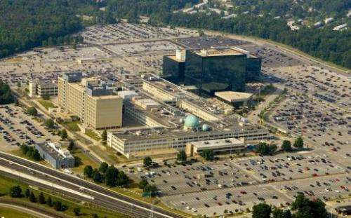 The US National Security Agency (NSA) is shown 31 May 2006 in Fort Meade, Maryland