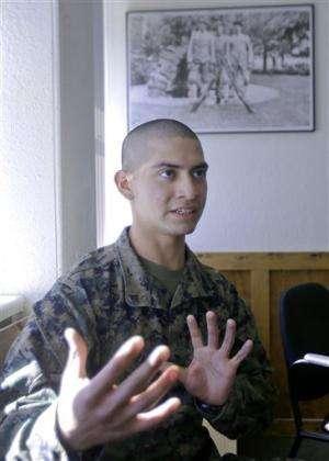 US Marines studying mindfulness-based training