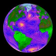 Watching Earth's winds, on a shoestring
