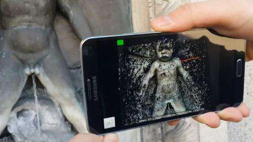Your smartphone as a 3D scanner