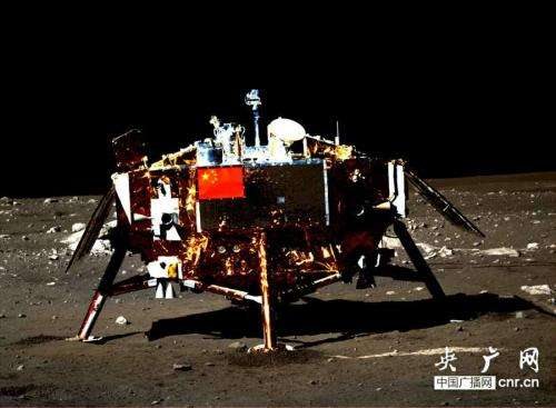 Yutu moon rover sets sail for breathtaking new adventures