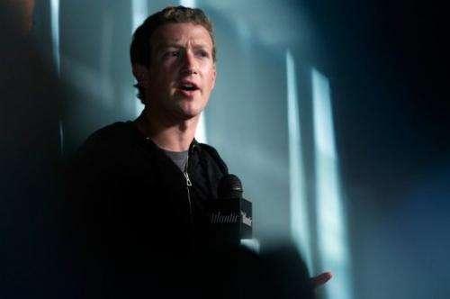 Facebook CEO Mark Zuckerberg speaks at the Newseum September 18, 2013 in Washington, DC