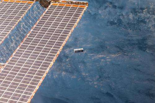 NASA Launches First Exo-Brake Parachute from International Space Station