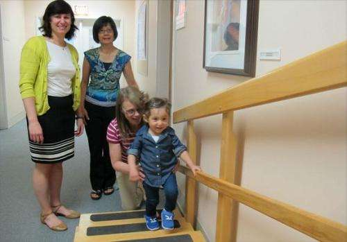 Helping the youngest stroke sufferers get a leg up