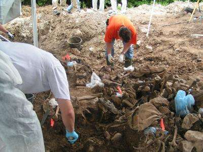 Searching for clandestine graves with geophysical tools
