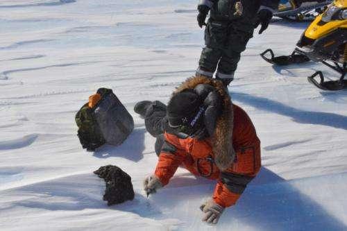 18kg: Scientists find one of Antartica's largest meteorites