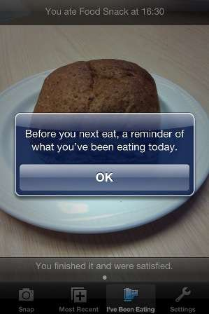 Researchers develop smart phone app to help weight loss