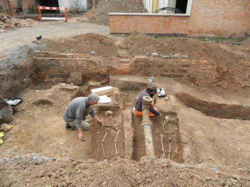 King Richard III archaeological unit makes new discovery under a car park in Leicester