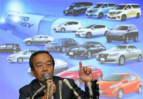 Toyota's hybrid vehicle sales pass 5 million