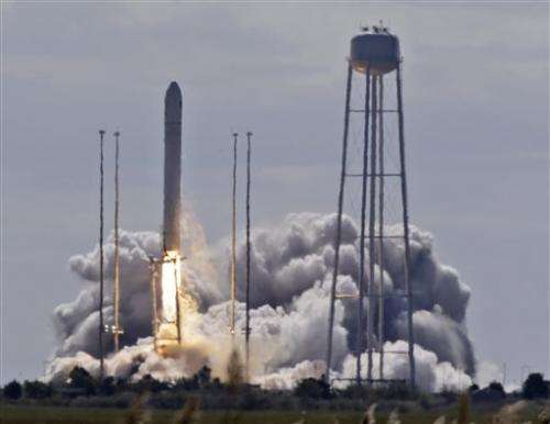 2nd private company rockets toward space station