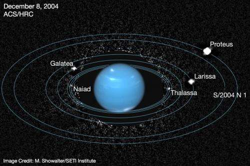 Archival Hubble images reveal Neptune's 'lost' inner moon