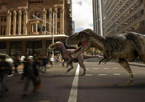 Australians first in line to see T.rex ancestor that links dinosaurs to birds