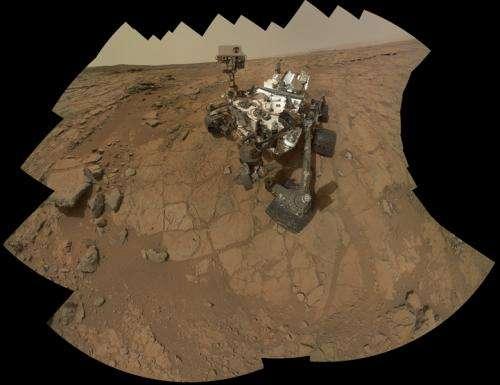 Curiosity performs warm reset
