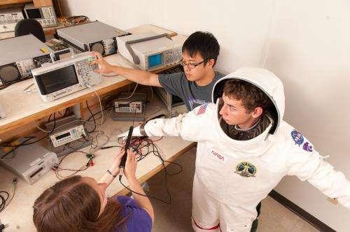 Engineers design spacesuit tools, biomedical sensors to keep astronauts healthy