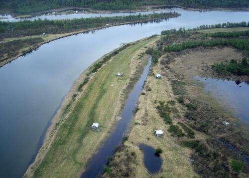 Floods didn't provide nitrogen 'fix' for earliest crops in frigid North