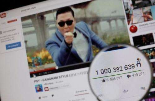 """Google said the YouTube page showcasing """"Gangnam Style"""" by Psy has reaped more than $8 million in ad revenue"""