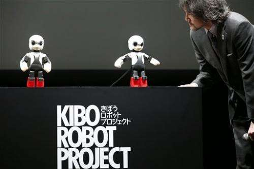 Japan conversation robot ready for outer space