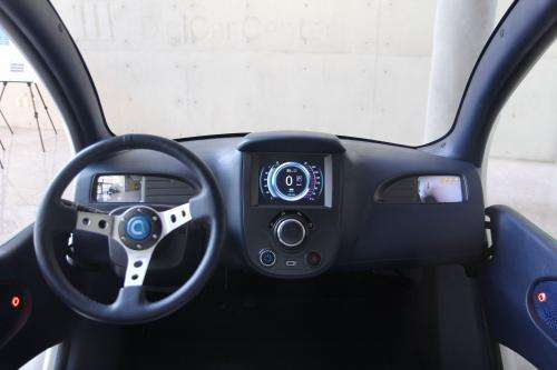 KAIST unveils foldable micro electric car, Armadillo-T