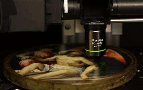Professor discovers new use for laser in art world