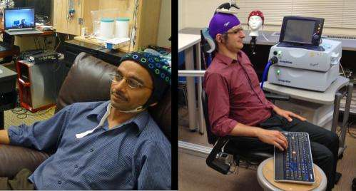 Researcher controls colleague's motions in first human brain-to-brain interface