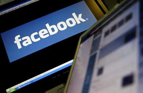 The logo of social networking website 'Facebook' is displayed on a computer screen in London, 12 December 2007.