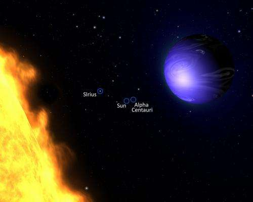 True colour of exoplanet measured for the first time