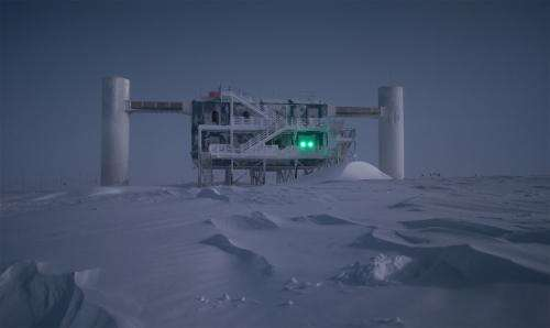 Searching for cosmic accelerators via IceCube