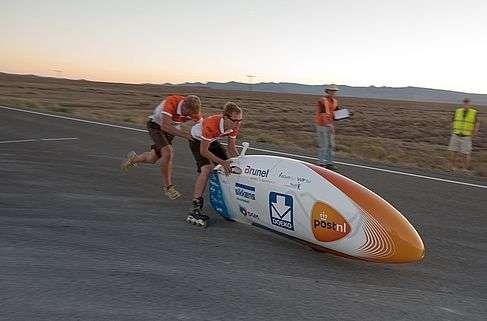 Delft high-tech bike sets new world record