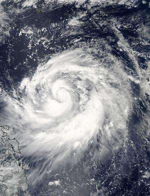 NASA sees Tropical Storm Usagi's central and southern power