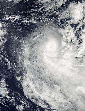 NASA sees Cyclone Victoria developing an eye