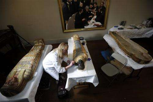 Boston hospital cleaning 2,500-year-old mummy