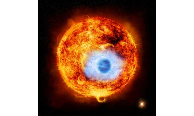 NASA's Chandra sees eclipsing planet in X-rays for first time