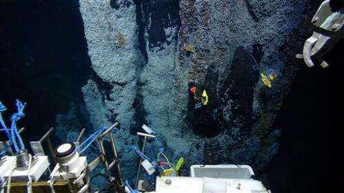 Researchers marvel at world's deepest sea vents