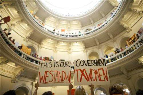 Supreme Court lets Texas abortion law stay for now