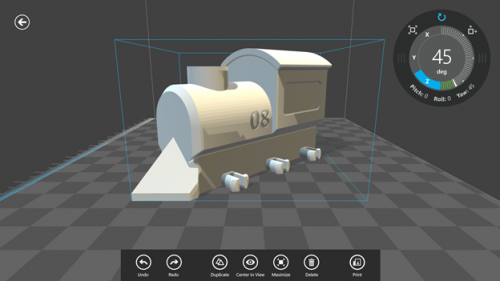 3D Builder is free 3D printing app for Windows 8.1