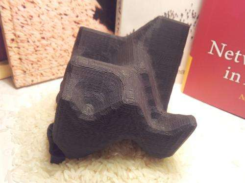 3D printing used as a tool to explain theoretical physics
