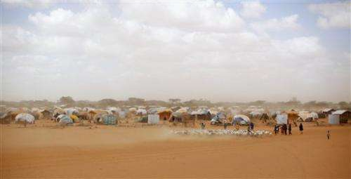 Global warming may have fueled Somali drought