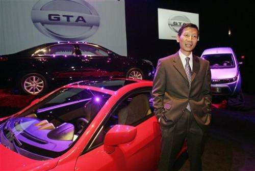 Chinese businessman's plan produces few cars, jobs