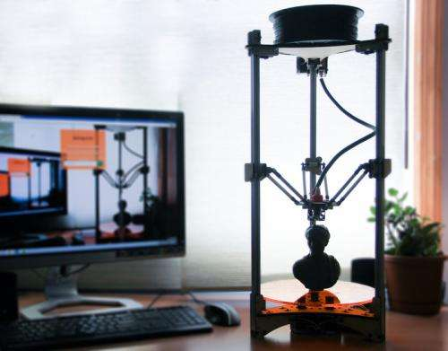 Kickstarter project Deltaprintr offers cheap easy to use 3D printer