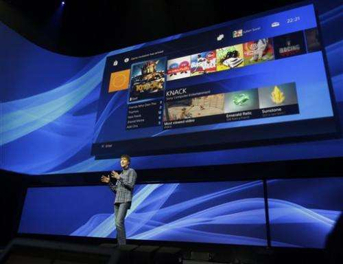 Sony shows PlayStation 4 capabilities, but no box