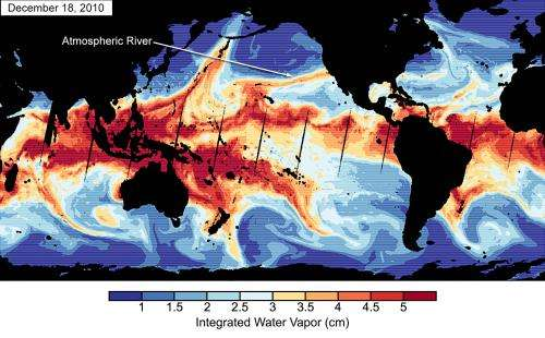 Study Finds Climate Link to Atmospheric-River Storms